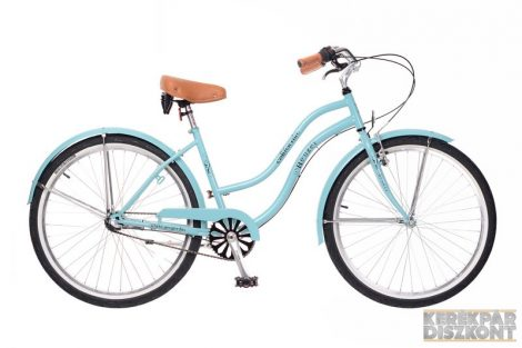 Kerékpár Neuzer California Cruiser női Celeste