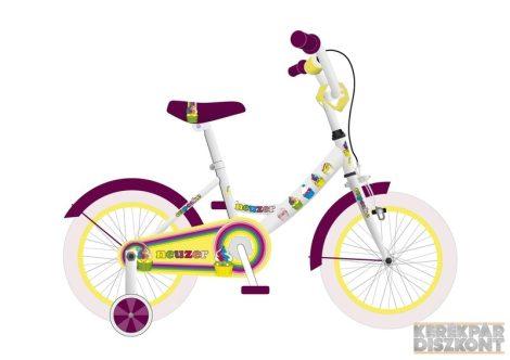 """Kerékpár Neuzer BMX 16"""" lány"""